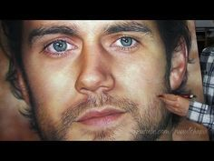 DRAWING SUPERMAN - HENRY CAVILL PASTEL PORTRAIT - YouTube