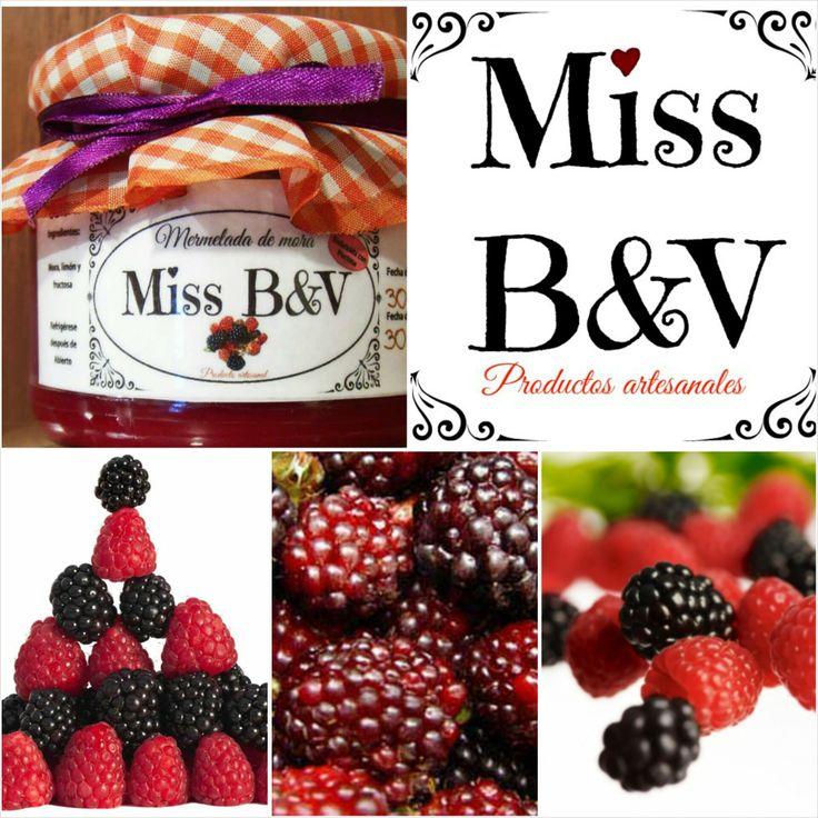 La mora es una fruta de sabor exótico, cultivada en distintas partes del mundo. En Miss B&V, te la ofrecemos en esta riquísima mermelada. #Sinremordimientos #SinAzucar #Fructosa