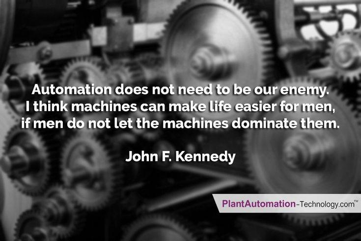 #JohnFKennedy Views on #Automation