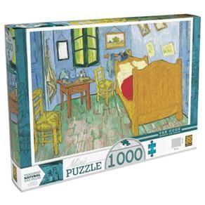 Mini Quebra-Cabeça Van Gogh Grow Quarto em Arles – 1000 Peças