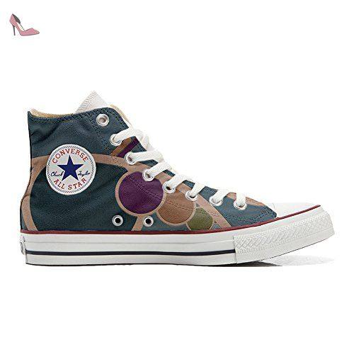 Converse All STar CUSTOMIZED  Sneaker Unisex printed Italian style Back Groud Abstract