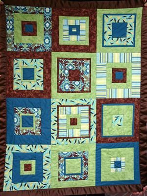 Chocolate Lime Quilt: Quilts Idea, Quilting Inspiration, Square