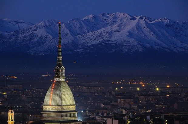 Turin - Panorama with Mole Antonelliana