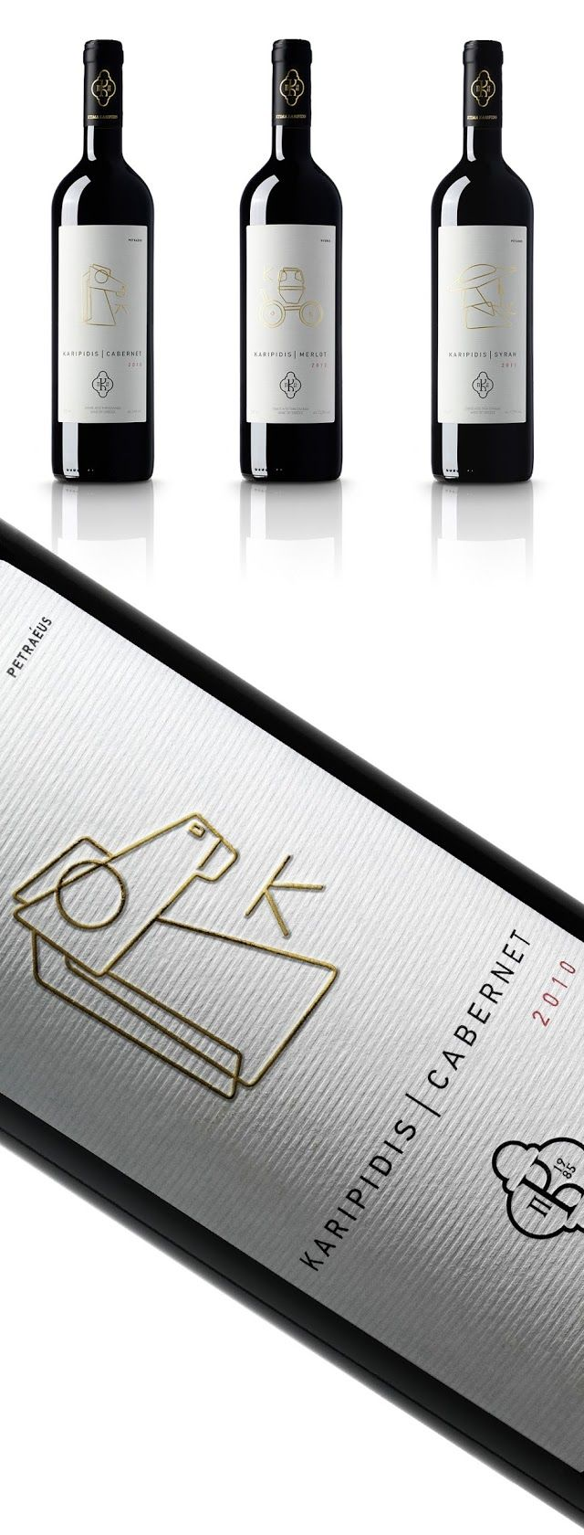 Karipidis Winery on Packaging of the World - Creative Package Design Gallery