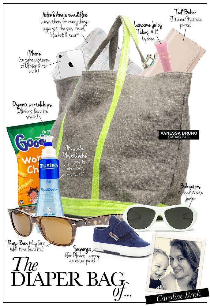 Pret a Pregnant presents the Diaper Bag of... Caroline Brok, Babiators Benelux