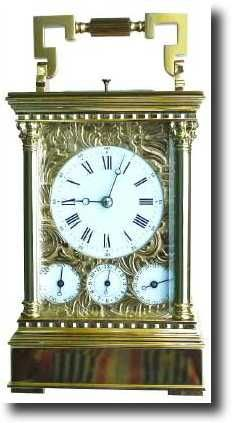 Antique Carriage Clock Manufacturer L 'Epee ANOTHER CARRIAGE CLOCK W' ALL THE EXTRAS YOU MAY HAVE REQ OR MAY STILL DO(?)<3<3<3 @