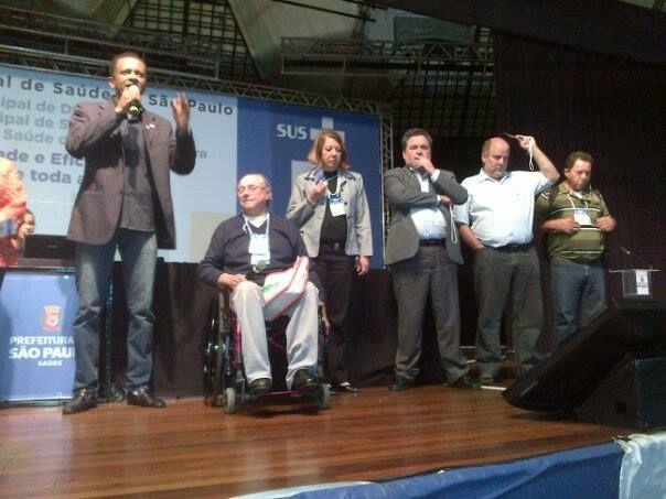 ASSESSORANDO NA 17ª CONFERÊNCIA MUNICIPAL DE SAÚDE-SP