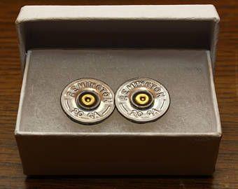 "Shotgun shell earrings studs 20 ga ""REMINGTON 20GA"" bullet jewelry, shotgun shells, bullets. shotgun shell jewelry"