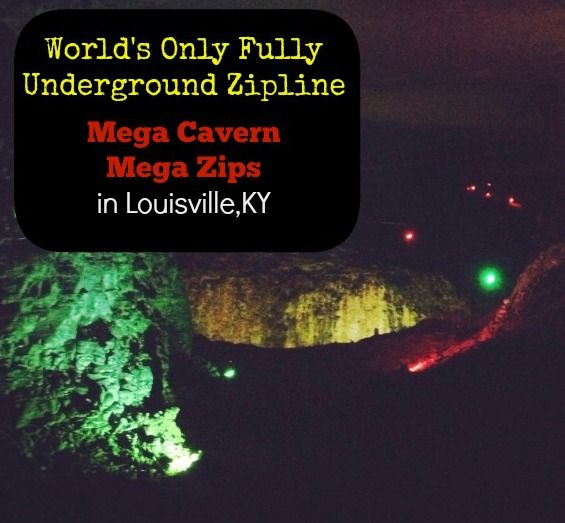 Mega Cavern - Mega Zips areThe World's only fully underground zipline course located in Louisville, KY.
