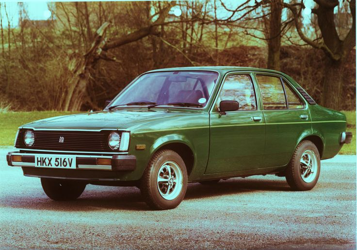 OG | 1980 Vauxhall Gemini GL | Dropped front grille proposal dated Aug. 1979