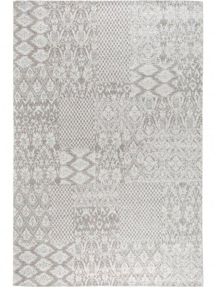 Flachgewebe Teppich Tosca Hellgrau 195x285 cm