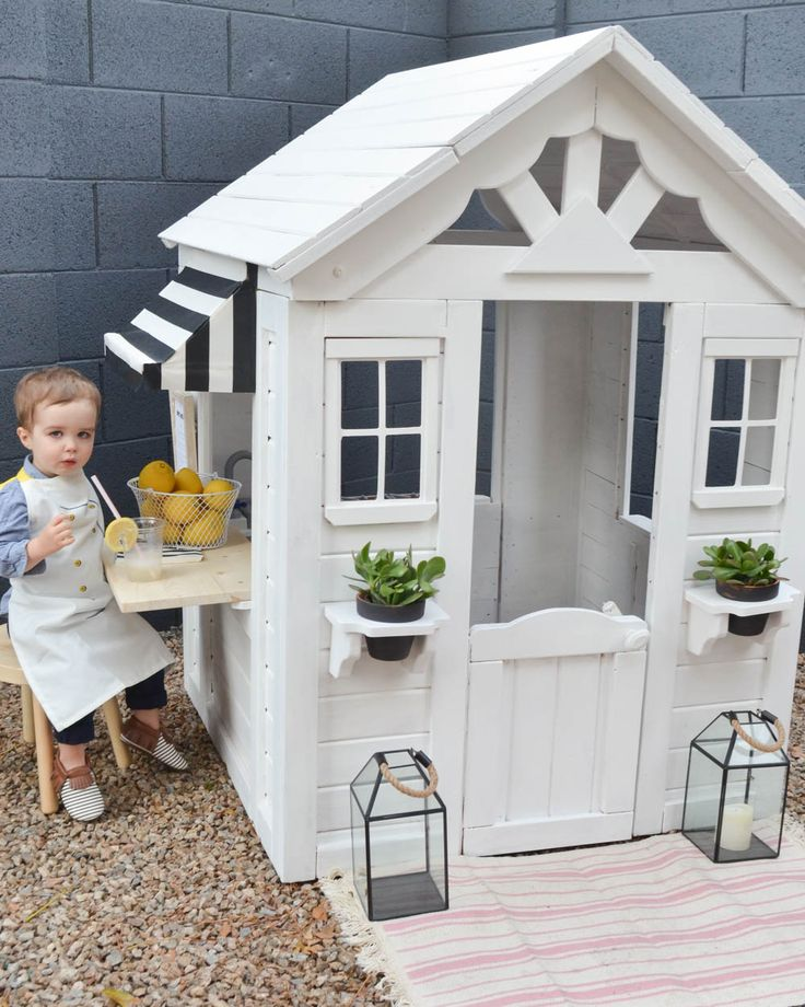 From Drab to Fab: A Playhouse Renovation You've Got To See — Momma Society