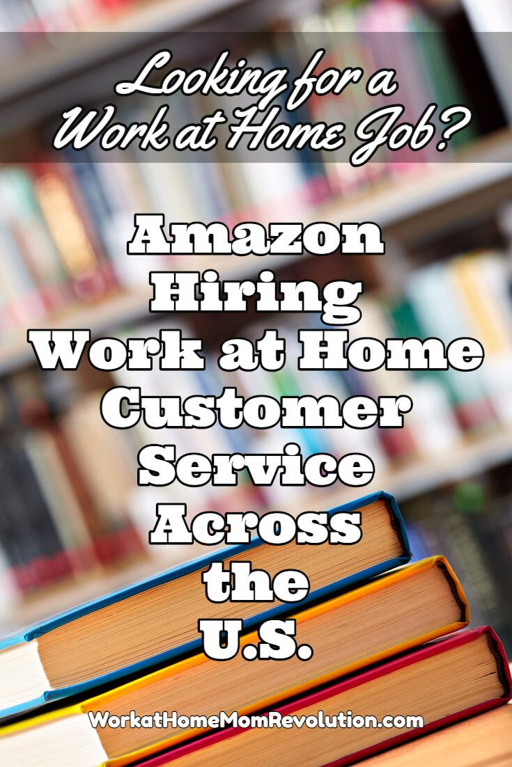 Amazon is hiring night and weekend part-time work at home customer service associates across the U.S. Training for these home-based positions is paid. Hourly rate is $10 per hour for these work from home jobs. Hiring across the U.S. You can make money from home!