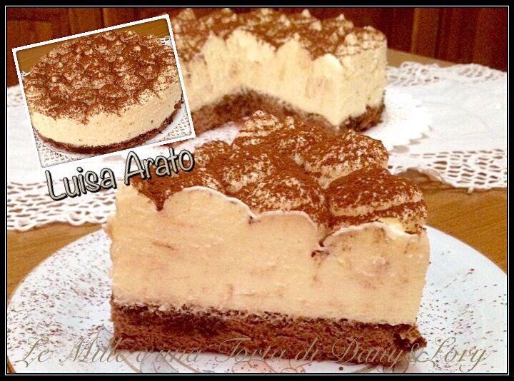 Condividi la ricetta...RICETTA DI: LUISA ARATO Ingredienti per il pan di Spagna al cacao: 4 uova 80 g di zucchero 60 g di farina 25 g di amido di mais 10 g di cacao Per…