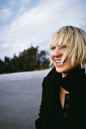 Sia Furler, known as Sia, Australian singer songwriter with THE MOST incredible voice