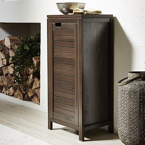 Buy John Lewis Bali Single Bathroom Towel Cupboard Online at johnlewis.com