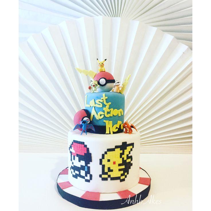 Cake for Pokemon fans.. !!