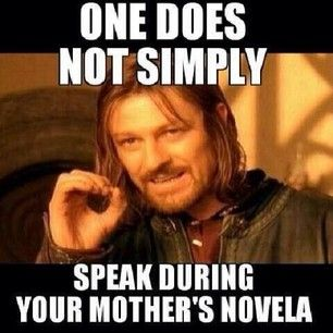 And you didn't dare utter a word. | 28 Things People Who Were Raised By A Mexican Mom Know To Be True