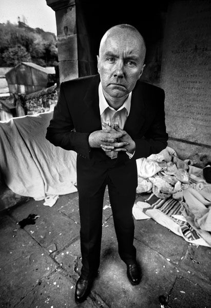 Irvine Welsh - viscereal, original, provocative. A truly great writer who challenges his readers with every word.