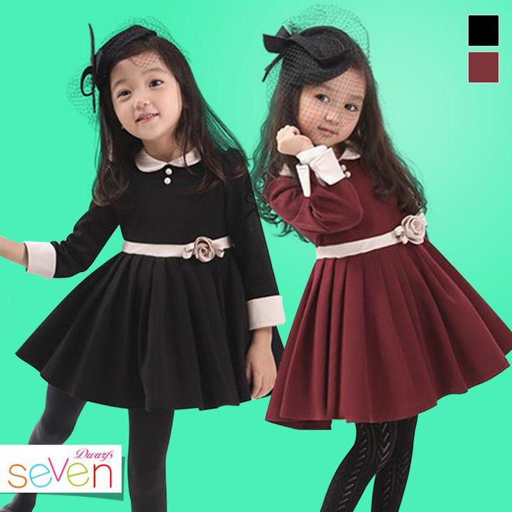 Одна часть девочек принцесса платья мода осень и зима плиссированные платье для детей ну вечеринку марка дизайнер детской одежды C20W28, принадлежащий категории Платья и относящийся к Одежда и аксессуары на сайте AliExpress.com | Alibaba Group