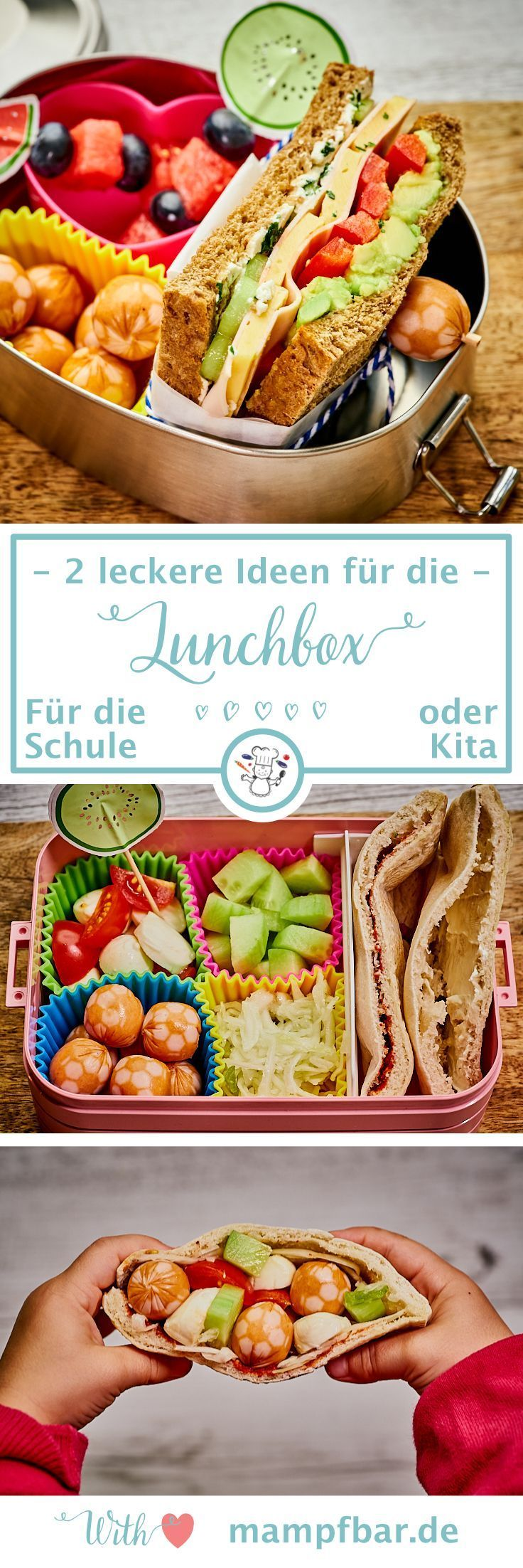 2 köstliche Back to School Lunchbox / Lunchbox Ideen – Lunchbox für Kinder – Gruppe …   – Healthy Snacks