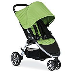 Britax 2017 B-Agile Stroller, Meadow Green