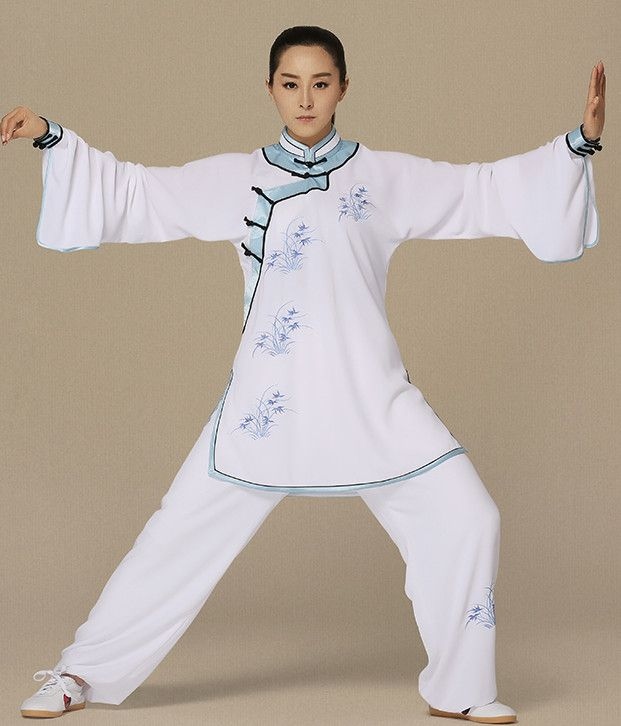 Top Kung Fu Competition Suits Kung Fu Gi Kung Fu Apparel Oriental Dress Wing Chun Apparel Taiji Uniform Chinese Kung Fu Outfit for Men Women Kids  Adults