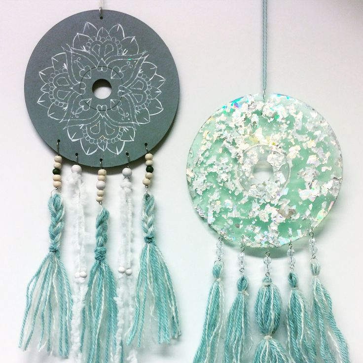 dream catchers from cd:s, Sirkku Tuomela 2017