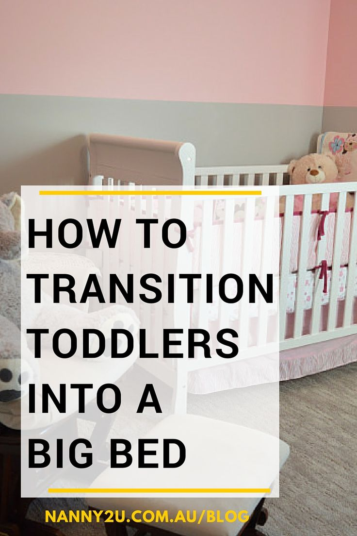 How To Transition Toddlers Into A Big Bed, sleep training, toddler bed, nanny2u, sydney nanny agency