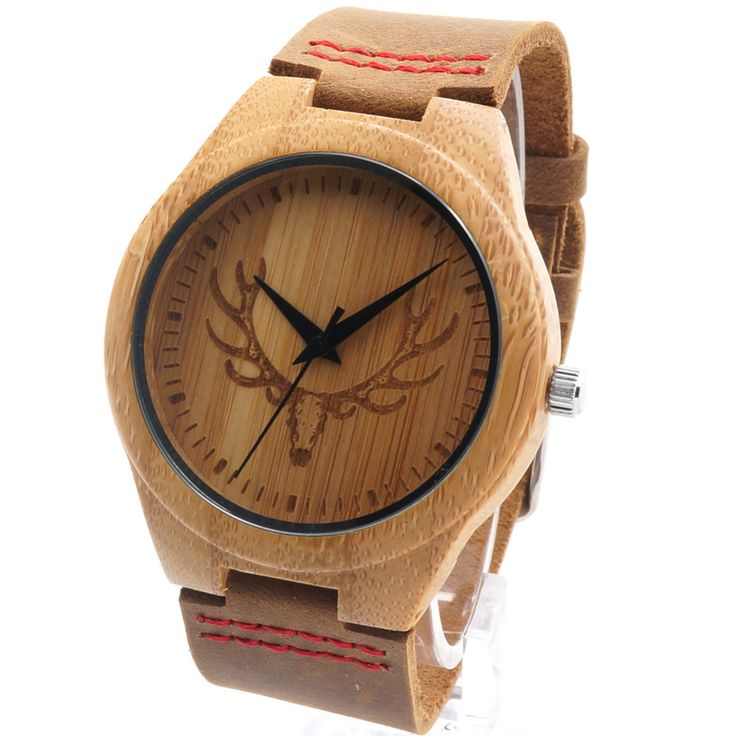Find More Business Watches Information about Bobobird RT0459 Mens Deer Head Design Buck Bamboo Wooden Watches Luxury Wooden Bamboo Watches With Leather Quartz Watch ,High Quality watch with stopwatch function,China watches sea Suppliers, Cheap watch thin from Bobobird on Aliexpress.com