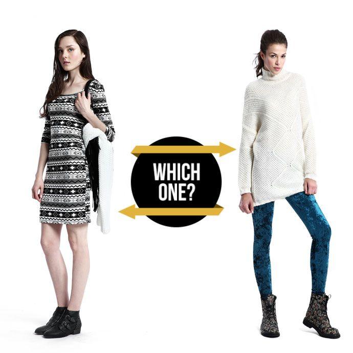 DRESS or MAXI SWEATER?