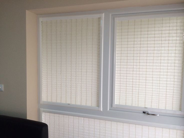 Perfect fit pleated blinds, no screws, no drilling ideal for pvc windows. Www.apollo-blinds.co.uk