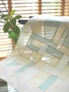 Teaginny Designs: Korean Pojagi-inspired Quilt