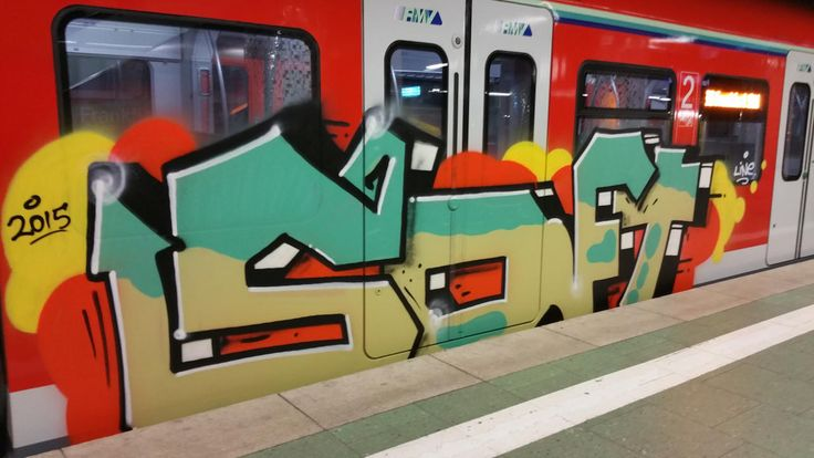 trainbombing S-Bahn Frankfurt am Main