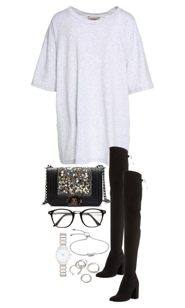 """Untitled #4482"" by theeuropeancloset ❤ liked on Polyvore featuring Yeezy by Kanye West, Stuart Weitzman, Monica Vinader, Forever New and Forever 21"