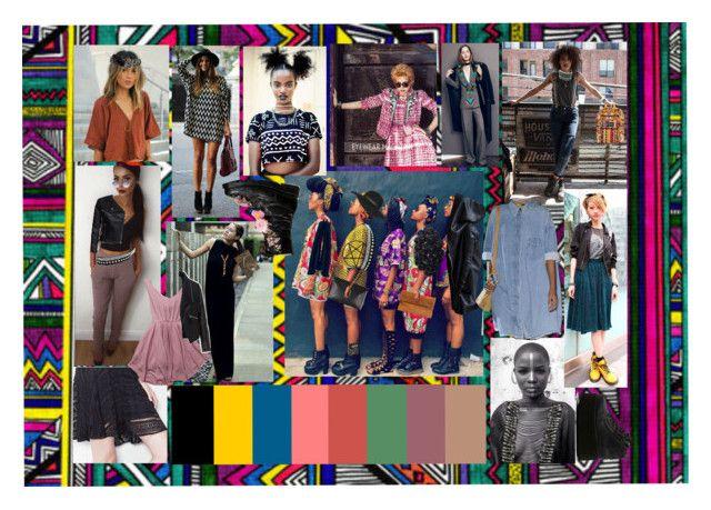 Africa Punk Trend by melaccamarina on Polyvore featuring moda, Zizzi, New Look, Torrid, Vivienne Westwood, JanSport, M&F Western, Alexander McQueen, Topshop and Monki
