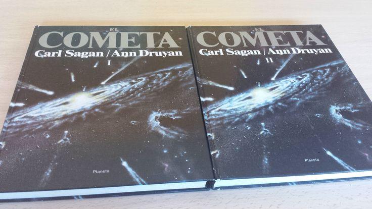 Libro El Cometa de Carl Sagan / Ann Druyan. Cómpralo en Ebay: http://www.ebay.es/itm/122057559919?ssPageName=STRK:MESELX:IT&_trksid=p3984.m1555.l2649