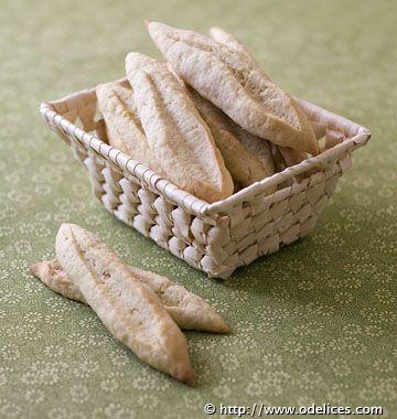Navettes des Alpilles (Provence) - Recettes de cuisine Ôdélices