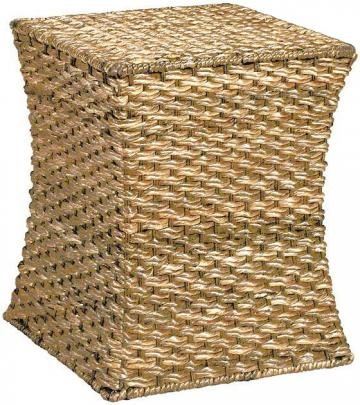 Banana Leaf Stool would look great having 2 at the foot of a bed or in a beach inspired room