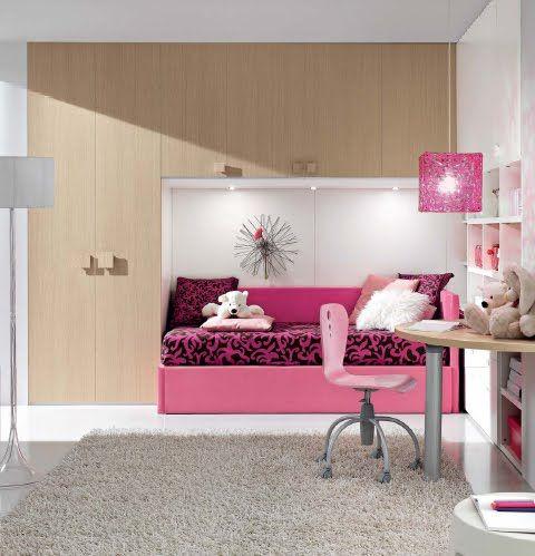 Las 25 mejores ideas sobre dormitorio fucsia en pinterest - Dormitorios infantiles dobles ...