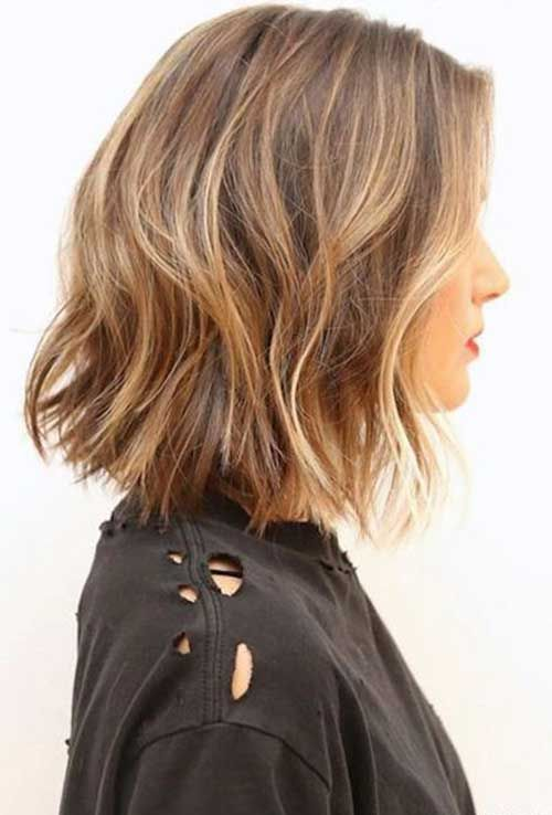 Short Brown Hair And Blonde Highlights Trendy Hairstyles In The Usa