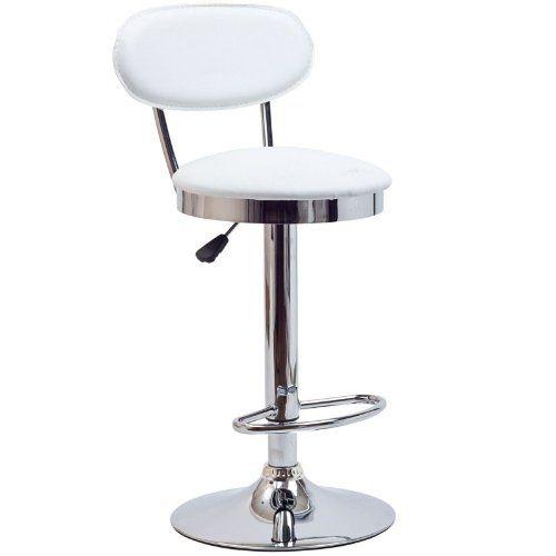 lexmod retro bar stool in white lexmod