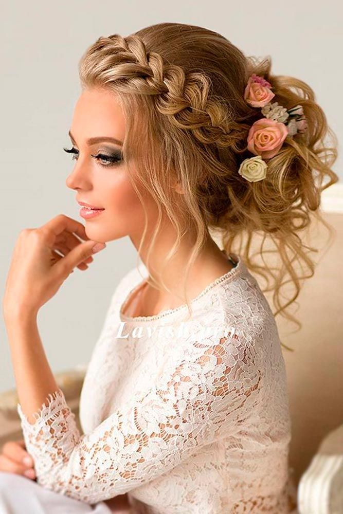 Best 25 Elegant Wedding Hairstyles Ideas On Pinterest Wavy Hair For Brides And Accessories