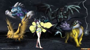 pokemon xy&z elesa poster