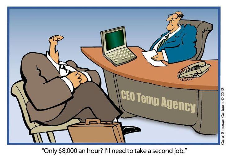 CEO Temporary Agencies: Temporary Agency, Ceo Temporary, Simpsons Cartoonwork, Temporary Work, Carol Simpsons, Temp Agency, Cartoons, Work Agency