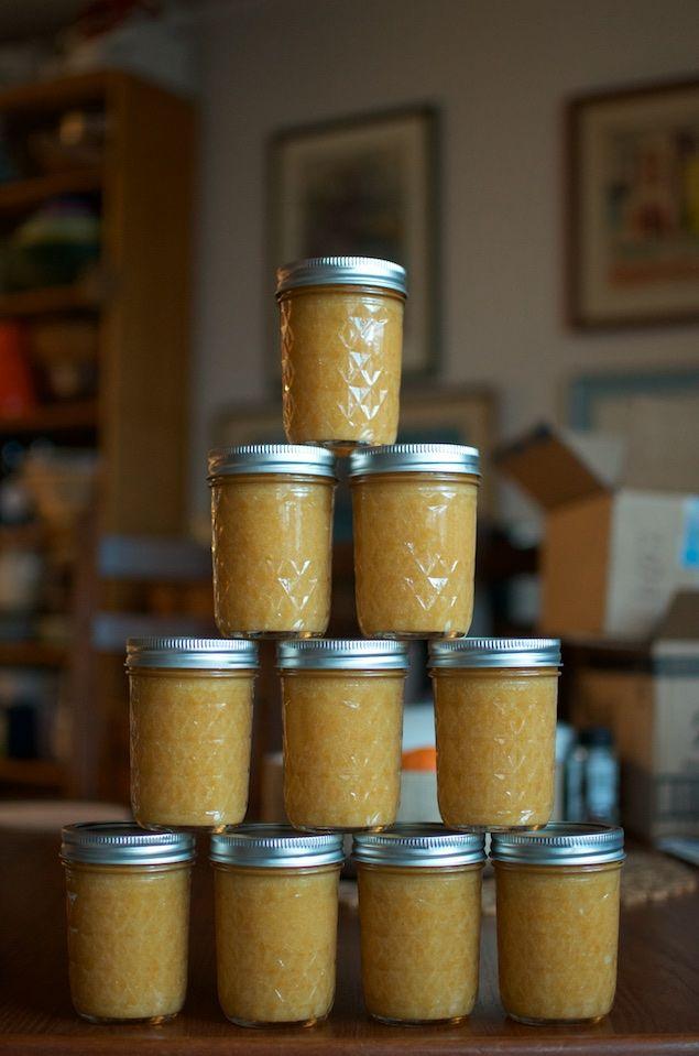 Meyer Lemon Lavender Jam from Food in Jars. It is four-ingredient magic!