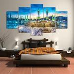 Mecca Canvas Art, Kababa Canvas Art, Kabba Wall Art, Mecca Wall Art, Islamic mosque Large Canvas Print, Islamic Wall Art, Islamic Decor