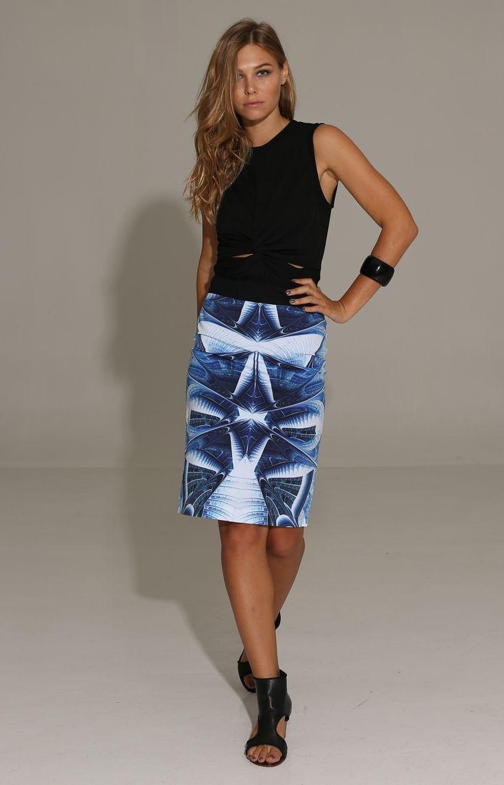 The Shanti Butterfly - Skymatic Skirt