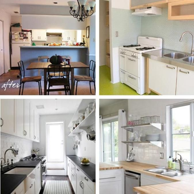 Kitchen Cabinet Makeovers On A Budget: 30+ DIY Kitchen Makeover Ideas On A Budget