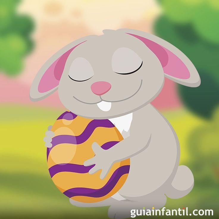 Descubre cómo es el cuento del Conejo de Pascua. un cuento corto para niños